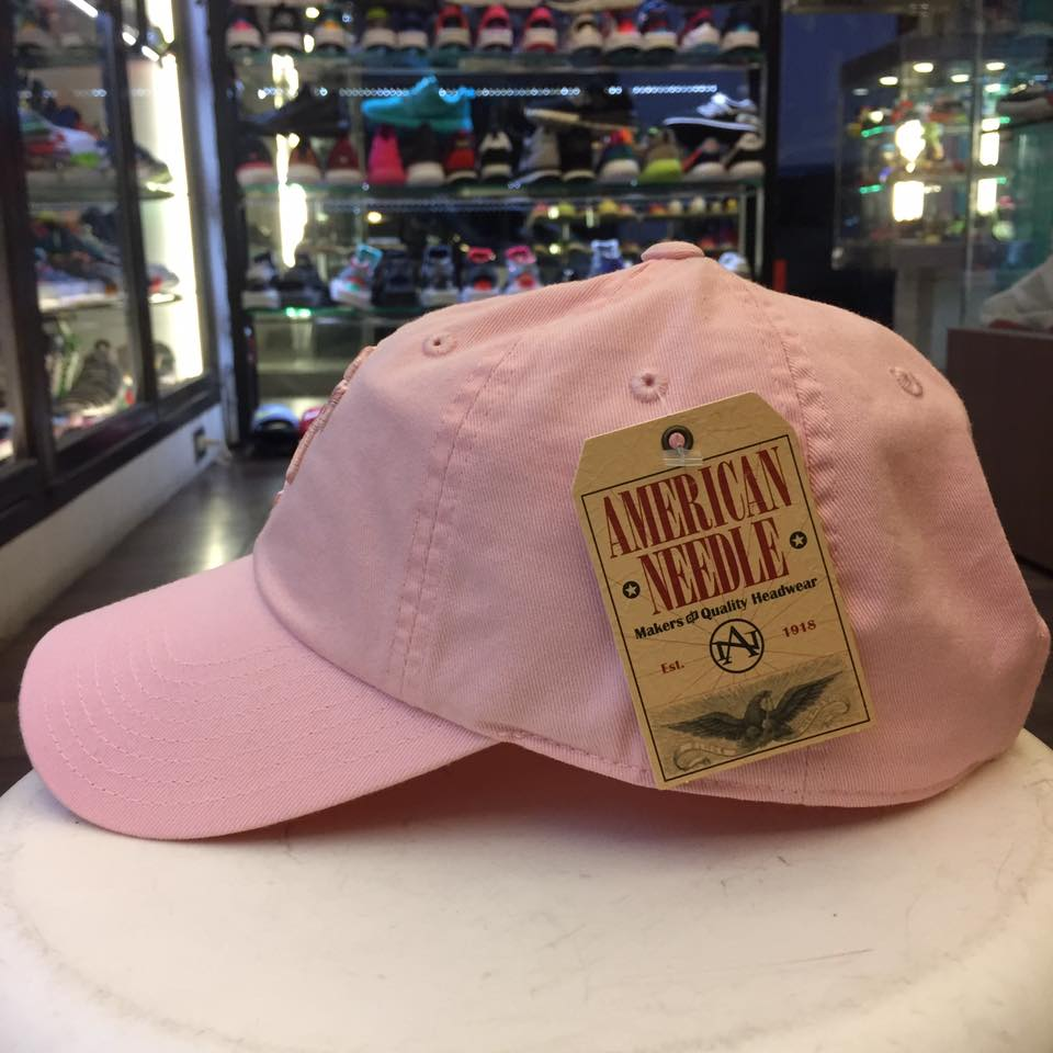 BEETLE AMERICA NEEDLE 老帽 舊金山巨人 SAN FRANCISCO GIANT DAD 大聯盟 粉 MN-381 1