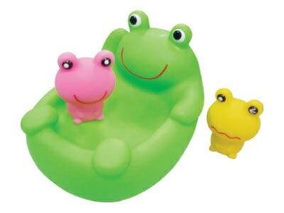 日本【ToyRoyal 樂雅】 軟膠洗澡組-青蛙 0