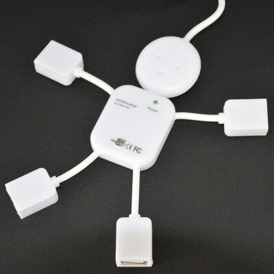辦公小幫手新奇小人物USB擴充線 十天預購