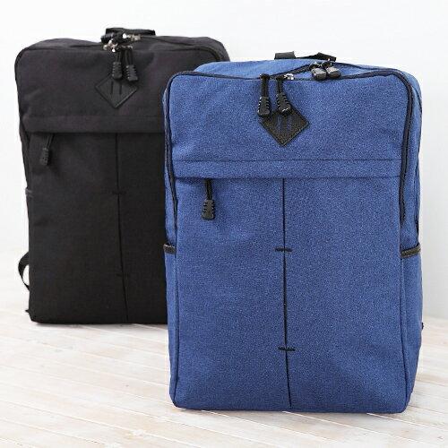 後背包-【日韓嚴選】。厚料小豬鼻縫線加厚後背包 包飾衣院 X603 現貨