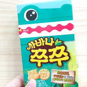 韓國CROWN 動物造型牛奶餅乾 [KR265] - 限時優惠好康折扣