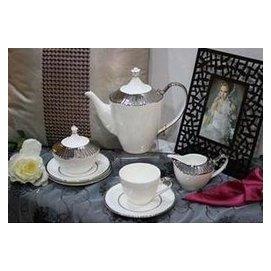 11頭純銀皇馬咖啡具-咖啡杯套裝/咖啡用具