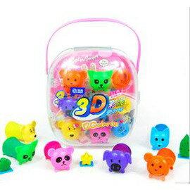3d彩泥 3d彩泥智高套裝 三D彩泥益智寶彩泥寶寶益智玩具-7701005
