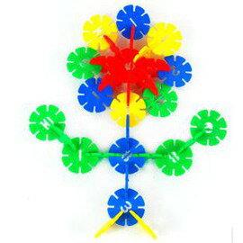 兒童益智玩具數位雪花片積木塑膠積木 拼插玩具-7701005