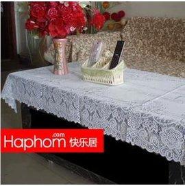 【台餐桌布120*120】白紗桌布 餐桌布椅套茶几 簡約風格多用巾-7101008