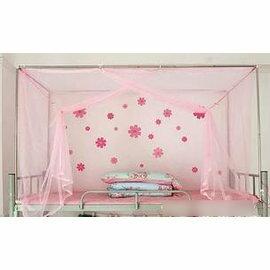 【學生蚊帳1米(3.3英尺)】加密老式上下鋪用 普通學生蚊帳 防塵布頂 單人雙人宿舍寢室-7101011