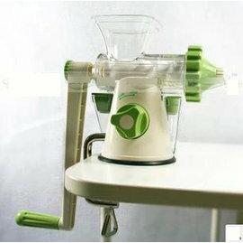 【小麥草榨汁機-手動-Y】手動小麥草榨汁器機(23*13.5*20cm) 附固定架-5101004