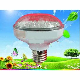 【LED苗期植物生長燈-生長期-螺口-1.8W-大晶片燈珠-紫光-直徑7.4*高8.1cm-1個/組】種植苗期-5101012