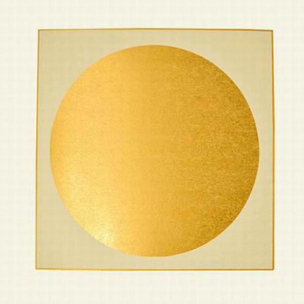 【金潛卡紙-圓扇-38*38cm-1張/組】熟宣紙 泥金鏡片適用於工筆畫小楷小寫意-30034