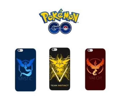 【寶可夢手機殼-1個/組】精靈寶可夢Go Pokemon GO口袋妖怪APP遊戲iphone 6 6S Plus手機殼-58001