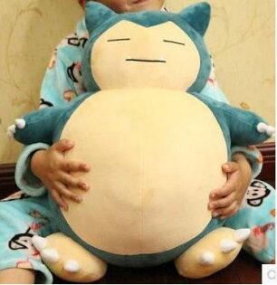 【宅配免運】卡比獸抱枕 Pokemon go神奇寶貝 M 抱枕娃娃寶可夢 神奇寶貝球行動電源毛絨玩具情人節-58001