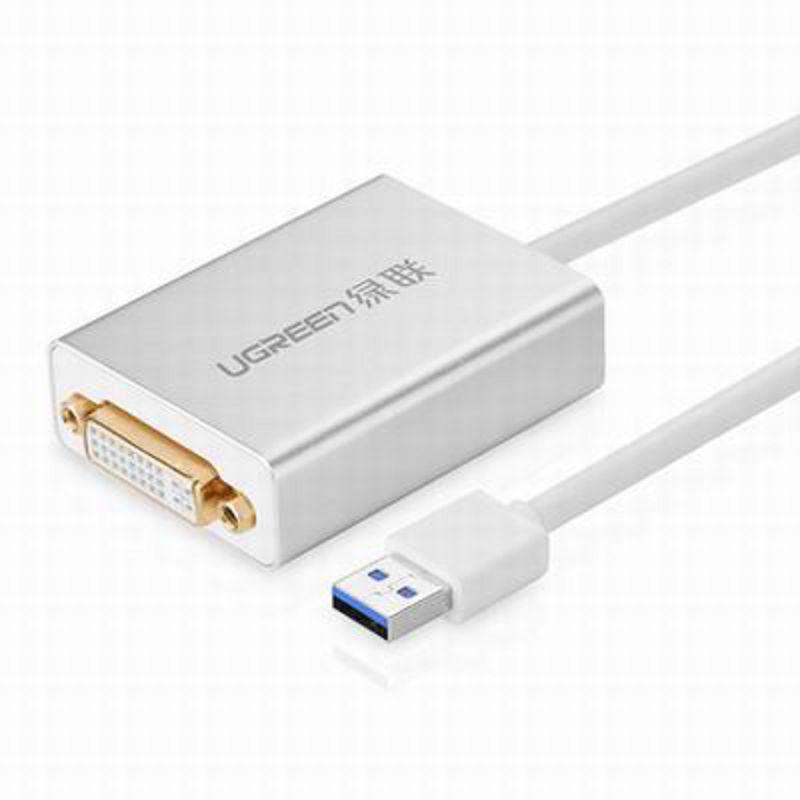 ~USB3.0轉DVI HDMI VGA轉換器~40243~線長80cm~1套 組~USB