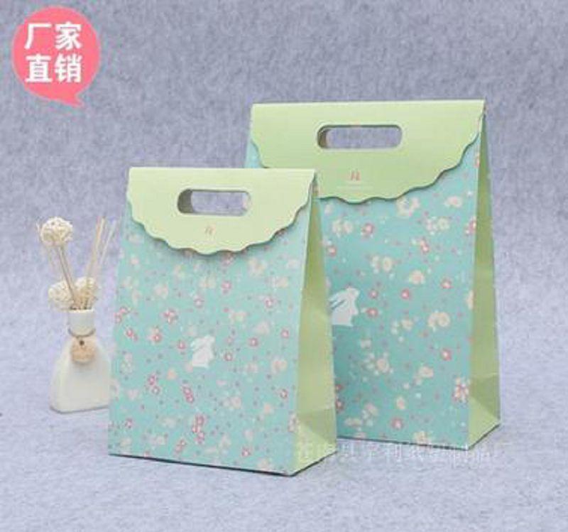 ~婚禮回禮贈品~糖果禮袋~100個 組~精美糖果禮袋 無繩手提 袋婚禮婚慶喜糖回禮紙袋~7
