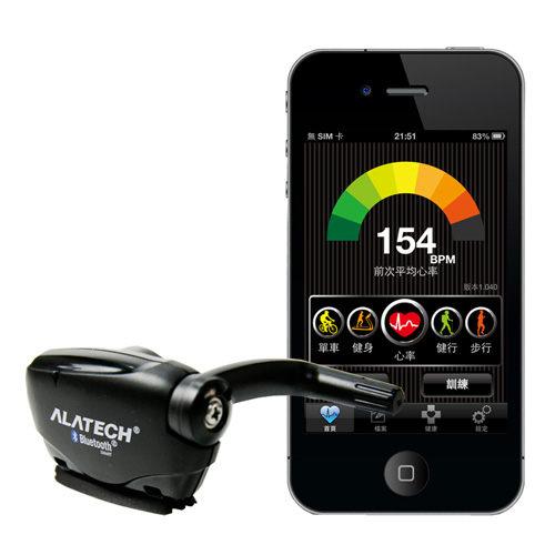 【ALATECH iPhone專用 藍牙4.0 自行車碼錶測速器】-5821001