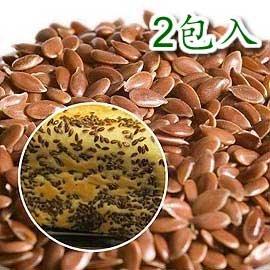 【亞麻仁籽-300g/包-6包/組】加拿大進口 含豐富植物性Omega-3脂肪酸 可用於製作麵包、餅乾 養生的烘焙堅果-8020002