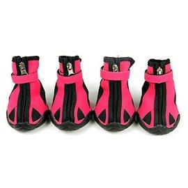 寵物鞋 狗狗鞋子 防滑防水膠底小型犬金毛狗鞋~7901001