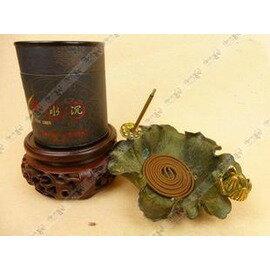 【香盤-銅荷花】佛教用品 純銅香爐 純銅荷花插香盤爐&插香盤 香托-7501002