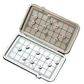 可 式皮夾迷你盒裝折疊磁性吸附耐磨防摔中國象棋~7601001 ~  好康折扣