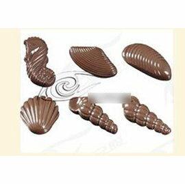 【巧克力模-立體冰格透明料-1061】巧克力模具套裝 硬質模具 DIY模具(成品10~18g)(模26.1*10.4*1.7cm) 2個/組-8001001