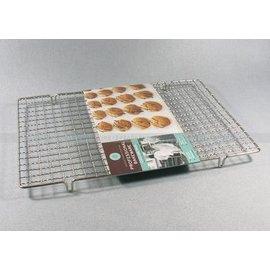 【晾網-不銹鋼-41*30】不銹鋼烘焙晾網 蛋糕麵包餅乾冷卻架(41*30cm)-8001003