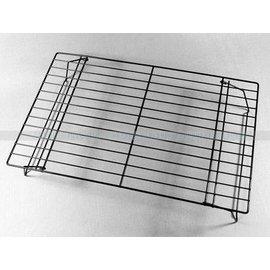 【晾網-精鋼鐵+不沾-40*25-2個/組】折疊晾網 蛋糕麵包曲奇餅乾冷卻架烘焙工具40*25(約長40*寬25*高8.5cm),2個/組-8001003