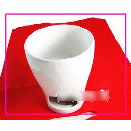 【巧克力爐-陶瓷-簡易一體-13*9.5*12】陶瓷手工DIY巧克力爐,熔爐,巧克力火鍋(含2個叉子1個爐架1個爐子,13*9.5*12cm)-8001006