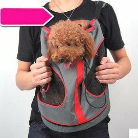 【寵物背包-大半圓前背包-尼龍料-28*29】狗狗包 寵物貓咪包 外出包 8斤以下狗用,長28*寬29cm 後背高38cm-79011