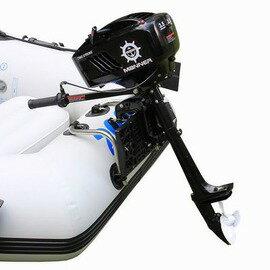 【汽油推進器-2沖3.5HP-20km/h-1套/組】2-4人充氣船馬力船外機機船用皮划艇充氣艇 燃油推進器馬達動力馬達-76033