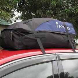 【車頂軟質折疊行李包-長100*寬85*前高25*後高45cm-1套/組】通用款 600D防水牛津布 車頂行李包 超大托運袋(約295升)-76012