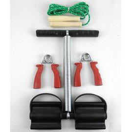 ~健身套裝~B~3款 套~1套 組~腳踏拉力器 跳繩 握力器^(兩只^),  套裝 健身器