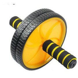 【雙輪健腹輪-套餐B-1套/組】滾輪 腹肌輪 雙輪健腹器 練臂肌,套餐A : 健腹輪+海綿墊+4檔握力器+護掌+俯臥撐支架-56001