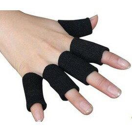 【護指-均碼-尼龍-厚0.2cm-直徑2.5*長4.5cm-10個/包-4包/組】排球護指護具籃球護指運動護具加長護指體育運動不傷手指-56001