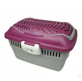 【手提籠-塑膠-382523】兔子龍貓天竺鼠 高級外帶包 手提籠 旅行袋 三色可選,38*25*23cm-79023