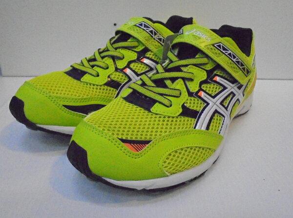 [陽光樂活]ASICS 2016新品 舒適透氣 兒童運動鞋  C6C8N-8901 黃X綠X白