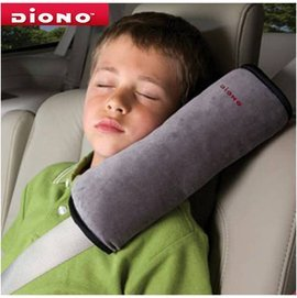 *babygo*美國Diono -安全帶保護靠枕【灰】DN60025㊣台灣總代理公司貨