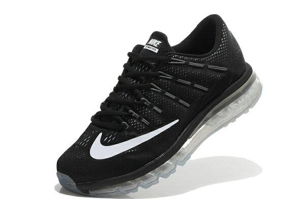 Nike Air Max 2016 氣墊跑鞋 黑白 男鞋