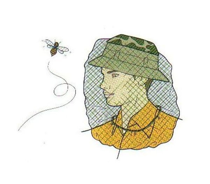【露營趣】中和 GO SPORT  59300 防蚊頭罩 防蜂頭罩 防蟲頭套 防蟲頭罩 防蚊網帽 防蜂網帽