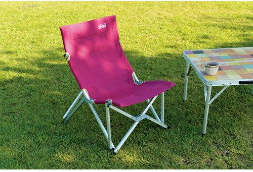 Coleman 美國 | 帆布樂活椅-艾薇綠、葡萄紅 躺椅 休閒椅 太師椅 折疊椅 摺疊椅 導演椅 | 秀山莊(CM-3110,CM-3111)
