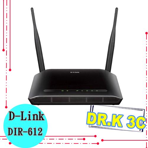 【Dr.K 數位3C 】D-Link N300 無線寬頻路由器(DIR-612)