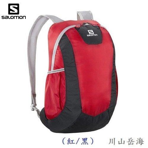 [ Salomon ] Commuter Lite 15L 紅/黑 / 輕量透氣專業背包 / 可當攻頂包 / 公司貨 328655