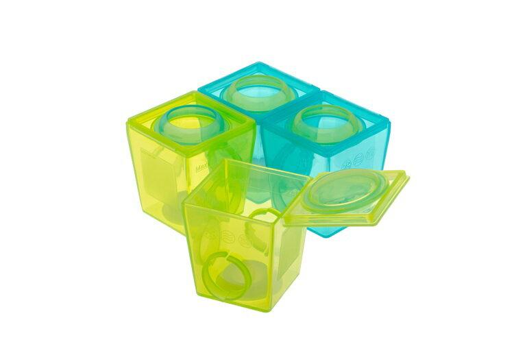 『121婦嬰用品館』brother max 副食品分裝盒(大號4盒) 0