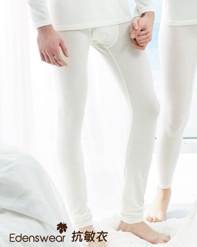 超細天絲鋅纖維抗敏系列-男鬆緊長褲 0