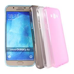 Ultimate- Samsung A8 輕量氣質霧面軟質防摔果凍保護套 小奇機 手機殼 軟殼 清水套