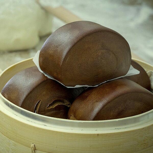金門『京采』黑金剛饅頭--5入(傳統口味,百吃不膩)