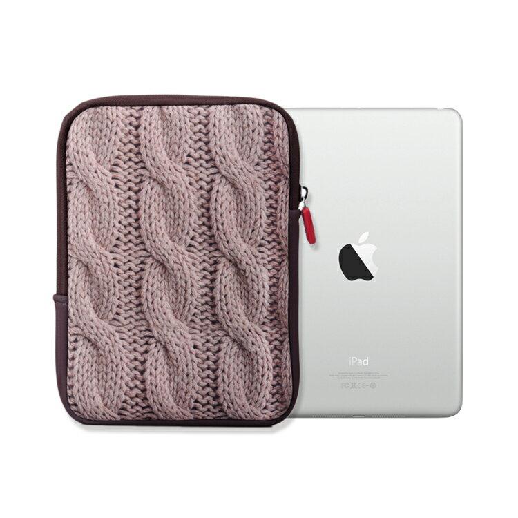 iPad mini 保護套.冬裝系列(卡其針織)