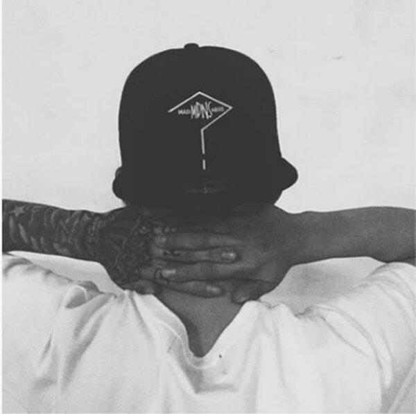 50%OFF【C012334H】新款mdns男士戶外平沿棒球帽潮牌余文樂同款帽子女夏天情侶嘻哈帽