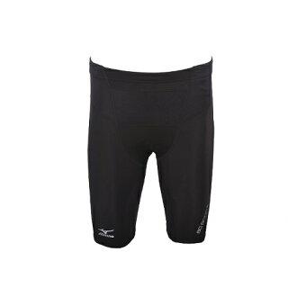 [陽光樂活]MIZUNO 美津濃 BG8000Ⅱ (男) 短版緊身褲 K2MJ6A1190 (黑X黑)