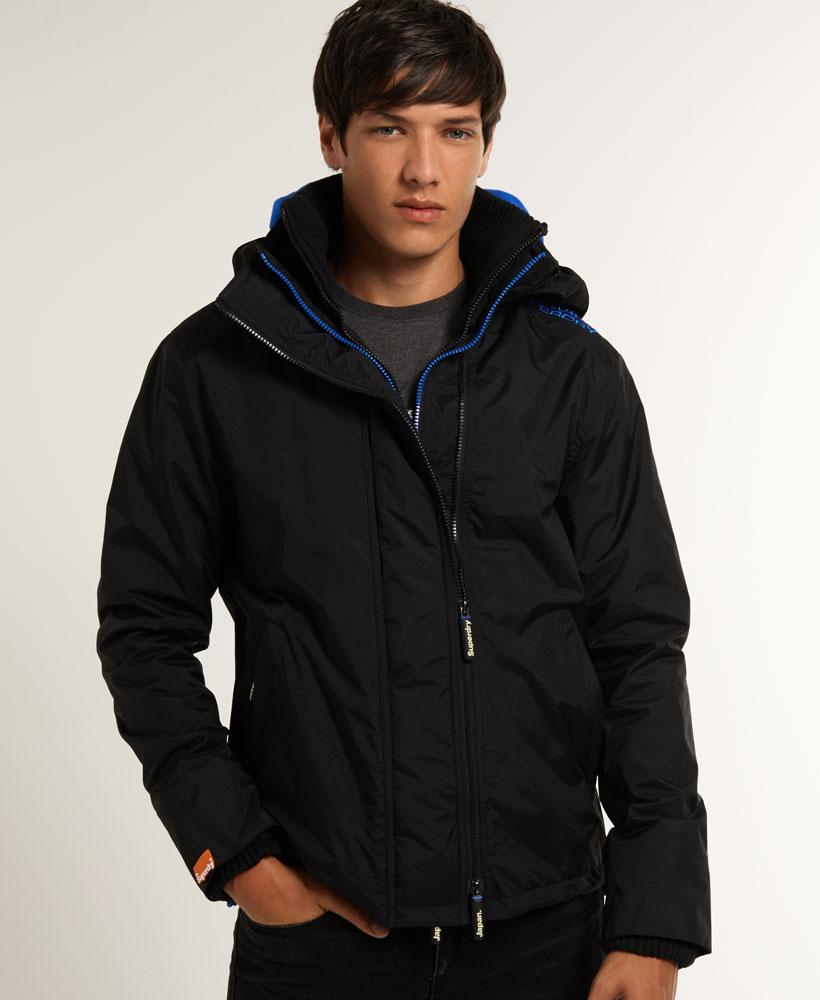 [男款] 英國代購 極度乾燥 Superdry Arctic 男士風衣戶外休閒 外套夾克 防水 防風 保暖 黑色/寶藍 2