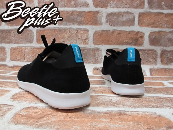 BEETLE PLUS NATIVE APOLLO MOC BLACK WHITE 阿波羅 莫卡辛鞋 黑白 全白 麂皮 休閒鞋 TOMS ROSHERUN 2