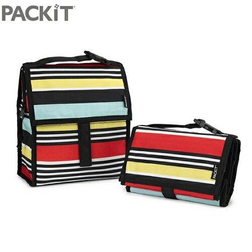 美國 【PACKiT】冰酷 多功能冷藏袋(炫彩條) - 限時優惠好康折扣